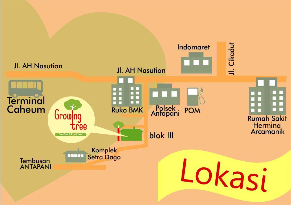 Lokasi Growing Tree Bandung